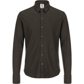 super.natural Comfort - T-shirt manches longues Homme - marron
